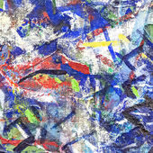 Abstract painted canvas — Stock Photo