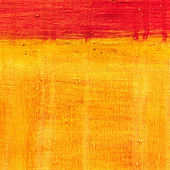 Art abstract painted background in red and yellow colors — Photo