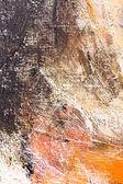 Sanat soyut el boyalı arka plan — Stok fotoğraf