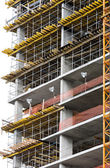 Construction of new building — Stock Photo