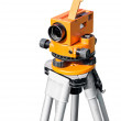 Orange optical level on white — Stock Photo #48791485