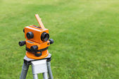 Surveyor equipment level theodolite — ストック写真