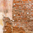 Old broken wall — Stock Photo #48839145