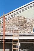 Renovation of old building — Foto de Stock