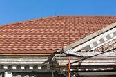 Renovation of old residential building — Foto de Stock