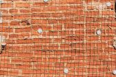 Destruye la pared de ladrillo — Foto de Stock
