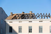 Roof reconctruction — Stock Photo