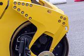 Steamroller closeup — Stockfoto