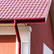 House with gutter system — Stock Photo #51047627