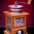 Stock Photo: Close-up of old-fashioned coffee grinder