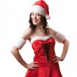 Santa girl — Stock Photo #16457653