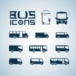 Bus icons — Stock Vector #18537239