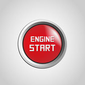 Engine start — Stock Vector