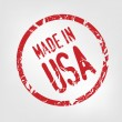 Royalty-Free Stock Vector Image: Made in USA stamp