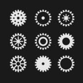 Vector gearwheel — Stock Vector