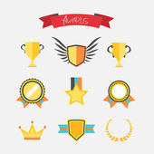 Awards collection — Stock Vector