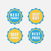 Best icons — Stock Vector