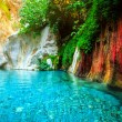 Beautiful turquoise lake — Stock Photo