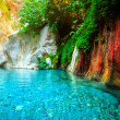 Beautiful turquoise lake — Stock Photo #18532353