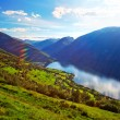 Norway fjord landscape — Stock Photo #12557644