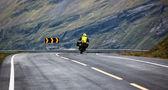 Motociclista — Foto de Stock