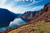 Norway fjord landscape — Stock Photo
