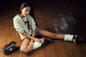 Jovem mulher japonesa — Fotografia Stock