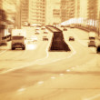 Big road with cars. — Stock Photo #1676006