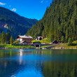 Alps mountain landscape — Stockfoto