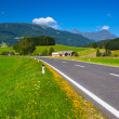 Alps road — Stock Photo