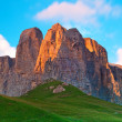 Dolomites mountains - Stock Photo