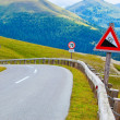 Alps road - Stock Photo