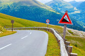 Alps road — Foto Stock