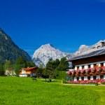 Alps village — Stock Photo
