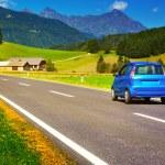 Car travel — Stock Photo