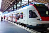 Modern train — Stock Photo