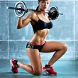 Young sports woman — Stock Photo