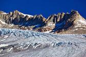 Montanhas com geleira — Foto Stock