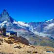 Matterhorn mountain — Stock Photo