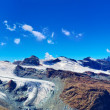Stock Photo: Glaciers panorama