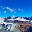 Glaciers panorama — Stock Photo