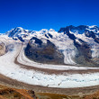 Glacier panorama — Stock Photo