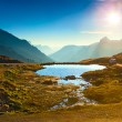 Alps landscape - Stock Photo