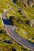 Estrada alpes — Foto Stock