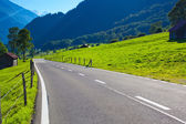 Alperna road — Stockfoto