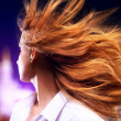 Young woman shaking hair — Foto de stock #39349801