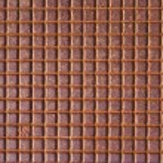 Rusty tiled metal — Stock Photo