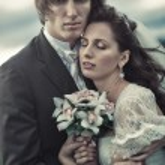 Wedding couple portrait — Stock Photo #4698170