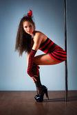 Joven mujer sexy — Foto de Stock