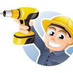 Construction worker — Stock Vector #13510753